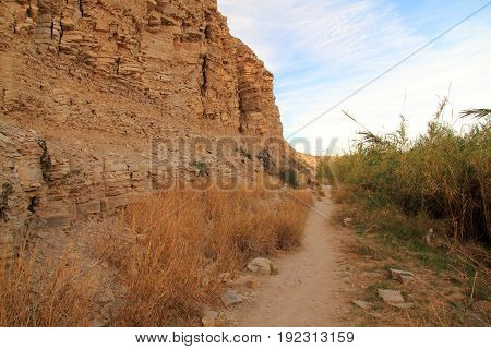 The Scenic Hot Springs Loop Trail in Big Bend National Park, Texas