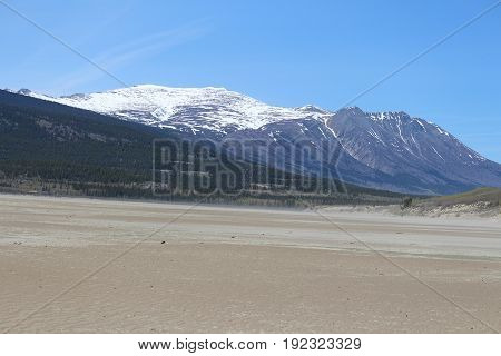 An excellent view of mountain with snow