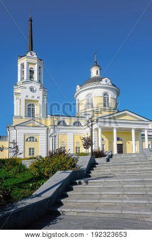 Church of the Blessed Virgin Assumption. Verkhnyaya Pyshma. Sverdlovsk region. Russia