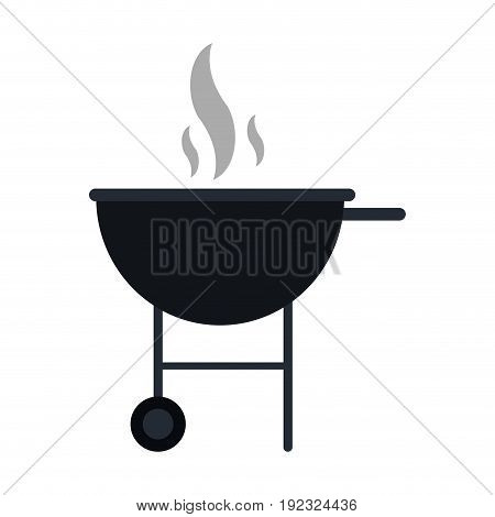 roaster food hot icon vector illustration design graphic
