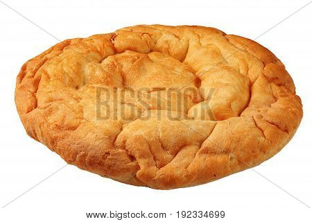 Soft Baked Flatbreads  Isolated On White