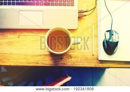 Order Working Table Vintage Stuff Cup Of Tea Break