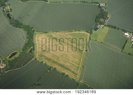 Aerial View Of Essex
