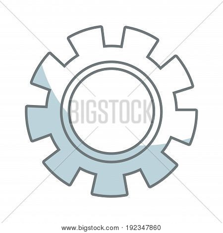 gear wheel mechanical business collaboration teamwork icon concept vector illustration