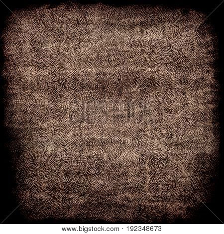 Dark brown net mech work graphic grunge texture background square