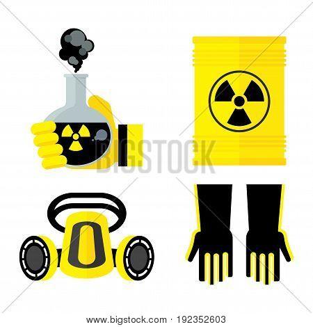 Set Of Toxic Items