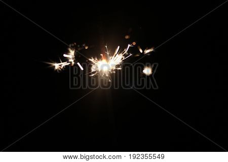 Sparkler holiday background for xmas new year abstrack Christmas