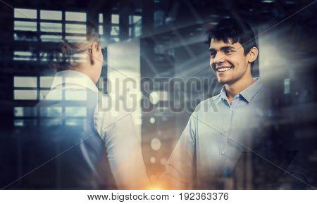 Nice to meet your partner. Mixed media