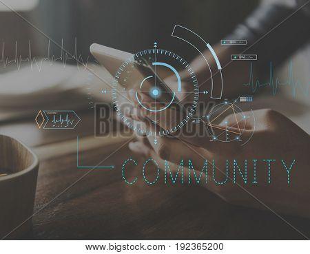 Media Hub Digital Community Icon