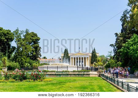 ATHENS, GREECE - May 3, 2017: National Archaeological Museum of Athens, Greece