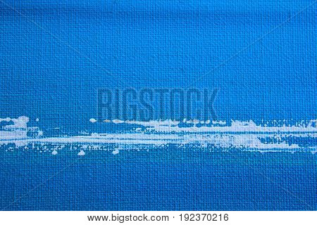Abstract Blue Seascape