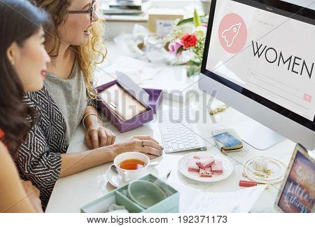 Women New Business Launch Plan Concept