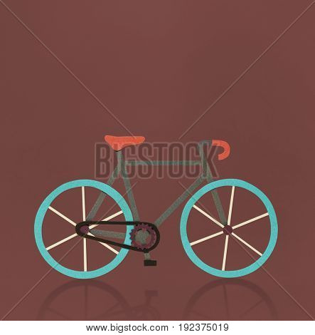 Bicycle riding exercise workout activity