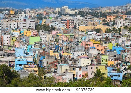 Visakhapatnam, INDIA - December 9 : Visakhapatnam city is the financial capital of Andhra Pradesh state in India. On December 9,2015 Visakhapatnam, India