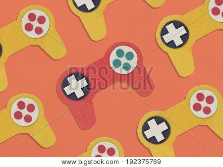 Game controller media entertainment activity