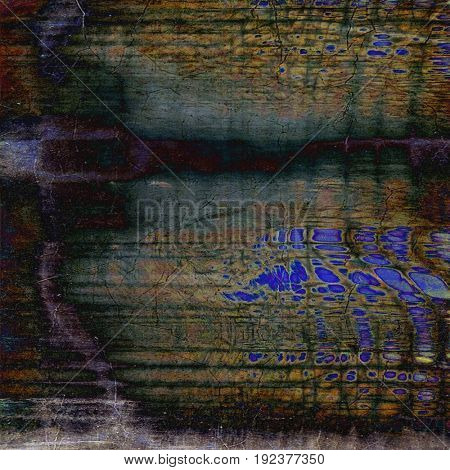 Stylish grunge texture, old damaged background. With different color patterns: yellow (beige); purple (violet); green; brown; gray; blue