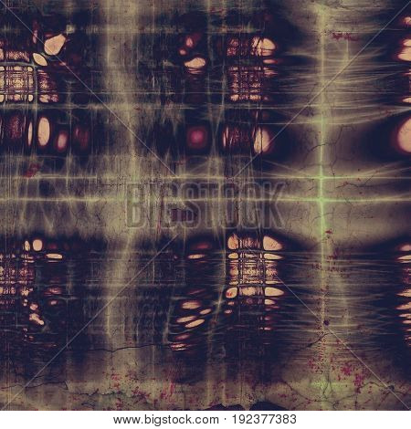 Old style distressed vintage background or texture. With different color patterns: yellow (beige); purple (violet); pink; brown; gray