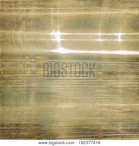 Decorated texture, antique vintage background with different color patterns: yellow (beige); green; brown; gray; white