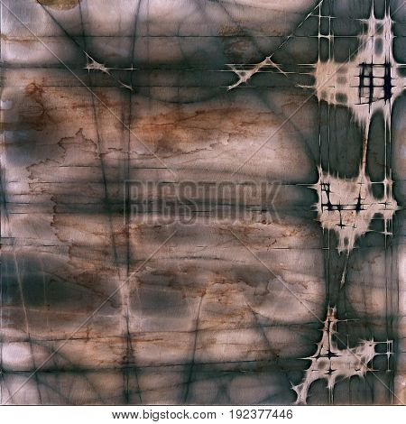 Grunge background for your design, aged shabby texture with different color patterns: yellow (beige); brown; gray; black; white