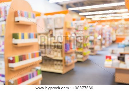 Store blur color group white background nobody