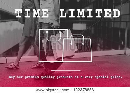 Sale Discount Offer Shopping Bag Icon