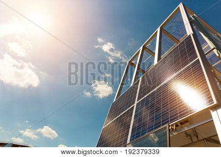 Solar panel, sun battery, alternative energy