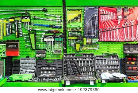 Professional workshop equipment, special tools