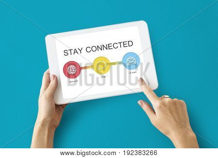 Online Communication Stay Connected