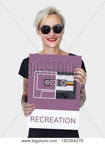 Music Audio Recreation Relaxation Entertainment Concept