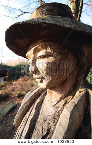 Outdoor Wooden Carving