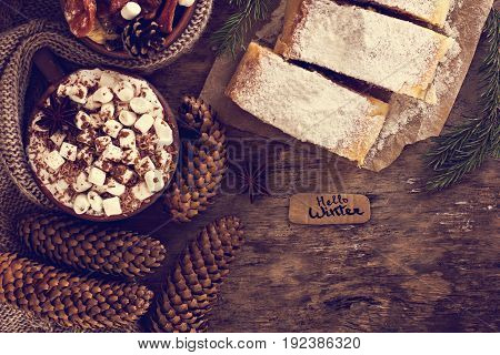 Strudel With Dried Fruits