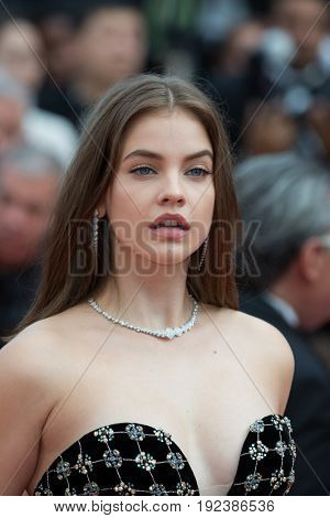 Barbara Palvin attends the 70th Anniversary screening  premiere for at the 70th Festival de Cannes. May 23, 2017 Cannes, France