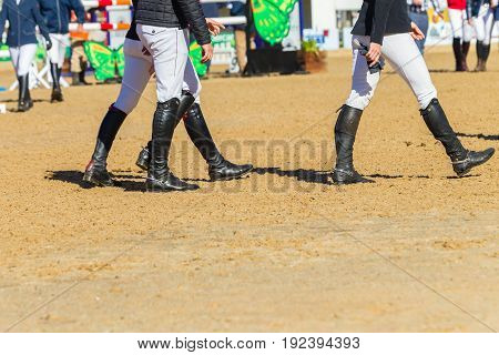 Riders Boots Pacing Arena