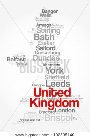 List Of Cities And Towns In United Kingdom
