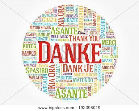 Danke (thank You In German)