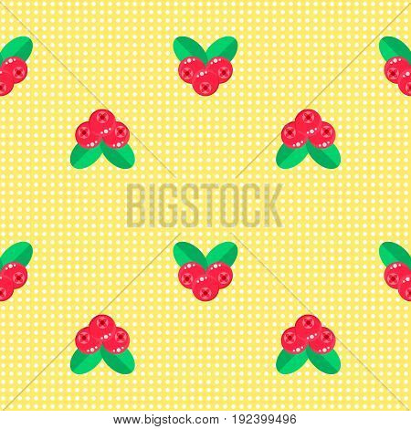 Vector Illustration. Seamless Pattern. Background With Forest Be