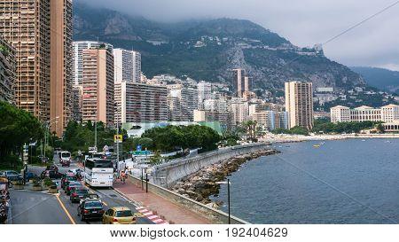 Waterfront Of Monaco City