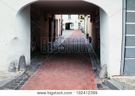 Gateway To Old Quarter Konventa Seta In Riga