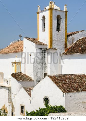 Church Of Santiago In Tavira City