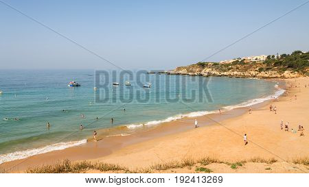 Urban Beach Praia Dos Alemaes In Albufeira City