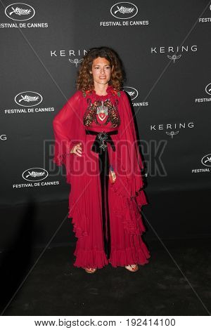 GINEVRA ELKANN at the Women in Motion Awards Dinner  for at the 70th Festival de Cannes. May 21, 2017  Cannes, France