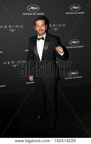 Diego Luna at the Women in Motion Awards Dinner  for at the 70th Festival de Cannes.May 21, 2017 Cannes, France