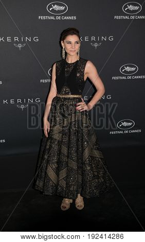 Clotilde Courau at the Women in Motion Awards Dinner  for at the 70th Festival de Cannes.May 21, 2017 Cannes, France