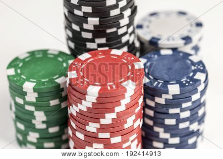 Stacks Of Chips