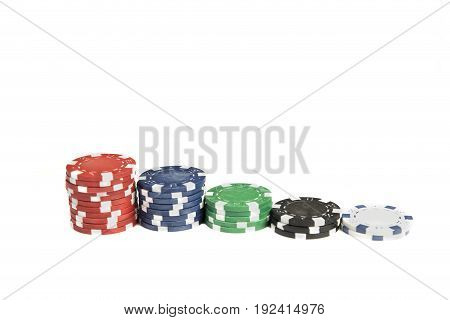 Piles Of Chips In A Row