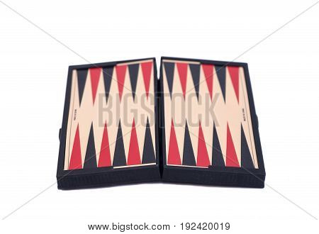 Backgammon Game Board isolated on white background