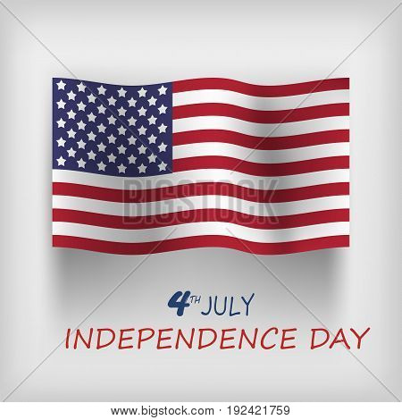 July 4th happy independence day. EPS 10.