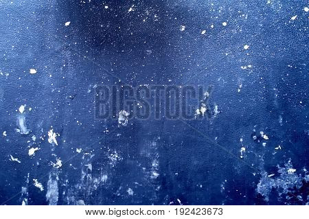 Luxury Blue Leather Texture Background. Imitation Leather Black Pvc Or Background. Blue Leather Text