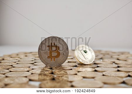Silver Bitcoin And Gold Peercoin