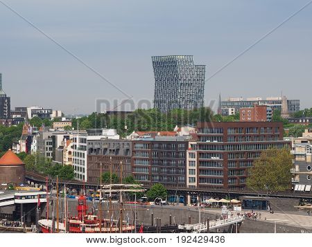 Hamburg Skyline View